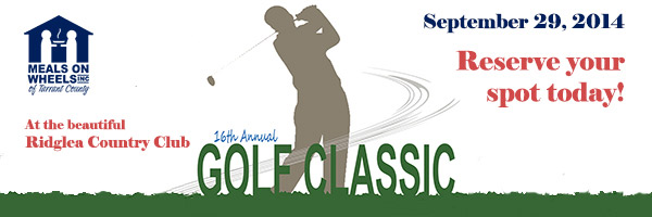 16th Meals on Wheels Annual Golf Classic