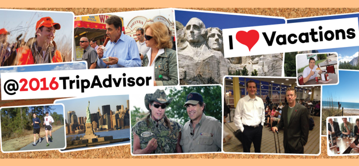 2016 Trip Advisor: Ted Cruz, Ending Family Vacations Since 2013