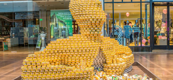 CANstruction goes to State Fair to benefit Tarrant Area Food Bank charities