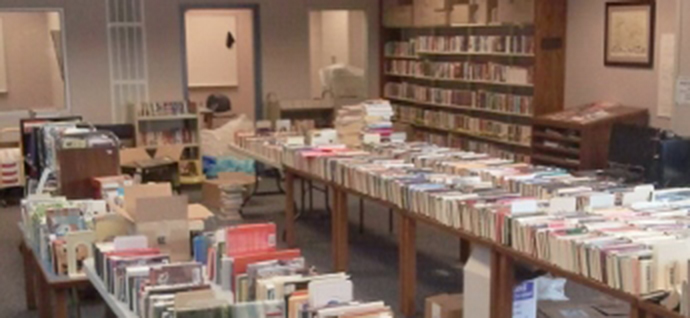 Saginaw Library Boosters Annual Fall Book and Bake Sale