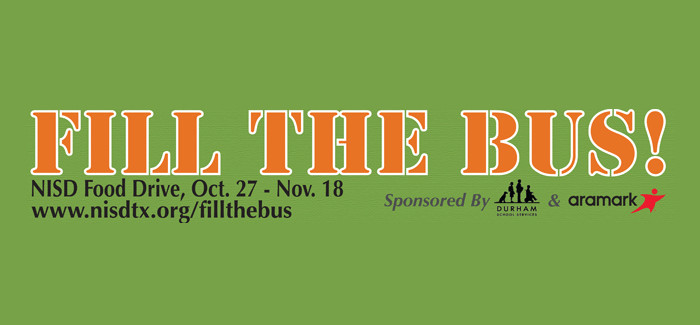 Fill the Bus NISD Food Drive