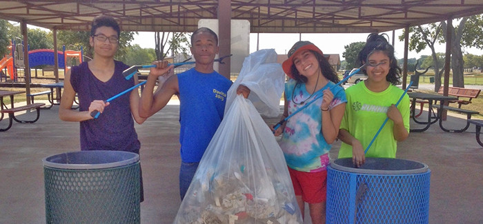 Local High School Environmental Club Gives Back to the City of Saginaw