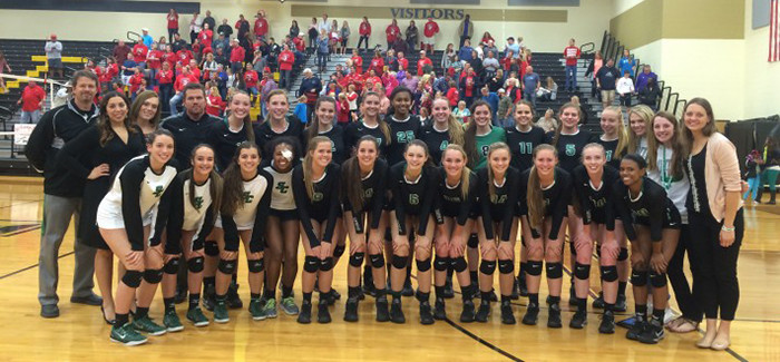 Lady Dragons Sweep McKinney Boyd in Area Round