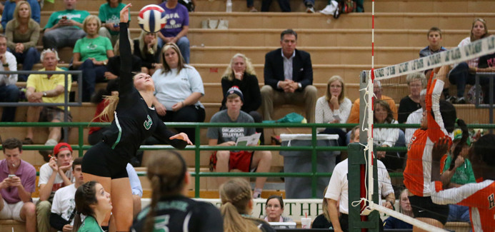 Lady Dragons Sweep Mansfield in Bi-District
