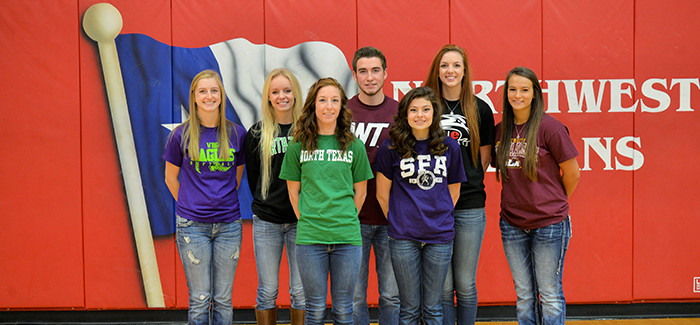 13 Seniors Sign NCAA Letter of Intent