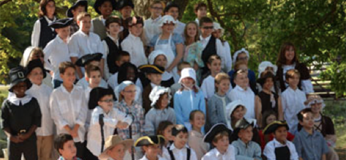 BCI: Colonial Day Takes Students Back in Time