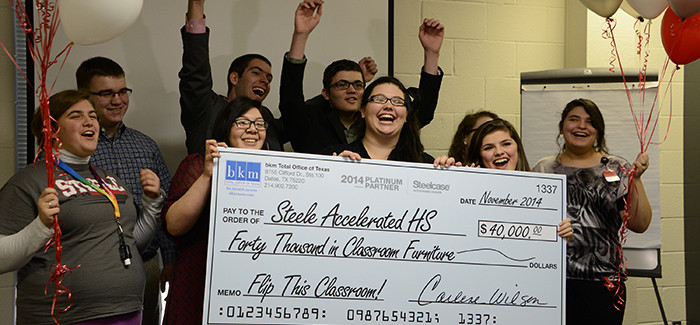 Steele Accelerated High School Wins $40K to Flip This Class