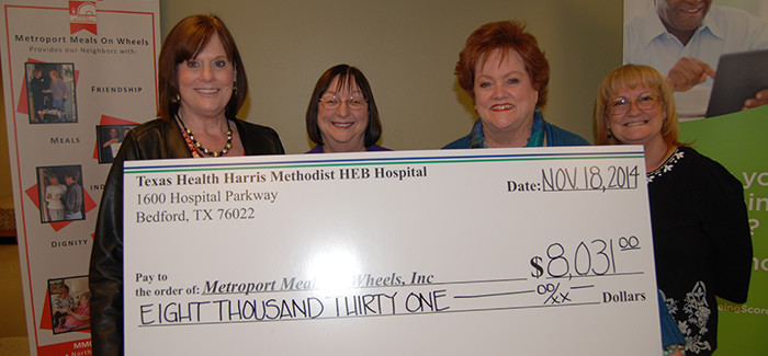 Texas Health HEB Works to End Senior Hunger  with Food Drive for Metroport Meals On Wheels