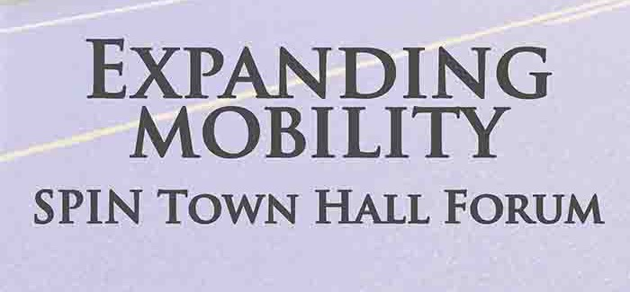 Join Us for the Expanding Mobility SPIN Town Hall Forum Tomorrow!