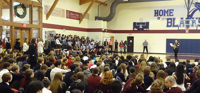 WESTLAKE ACADEMY HOLDS HUMAN RIGHTS AWARENESS WEEK