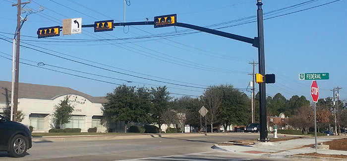 New Traffic Signal at Federal Avenue and North Carroll Avenue