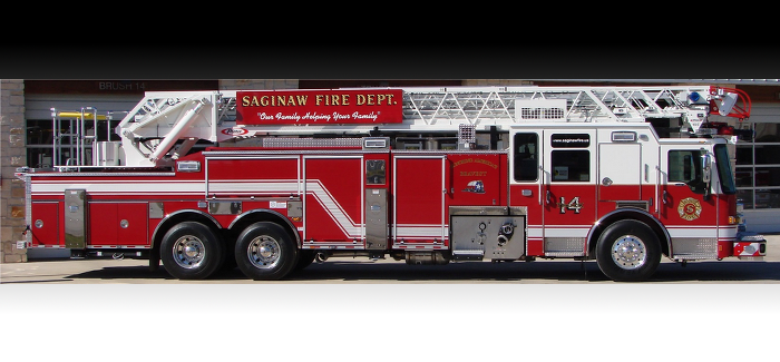 Saginaw Fire Department's New Fire Apparatus