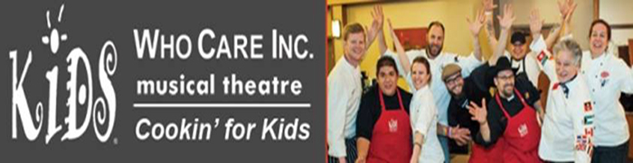 Kids Who Care Heats up the Night with the 18th Annual Cookin' For Kids!
