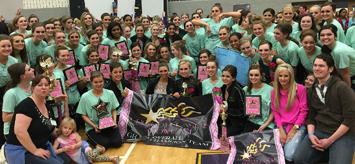 Emerald Belles Take Top Prize at Dance Competition
