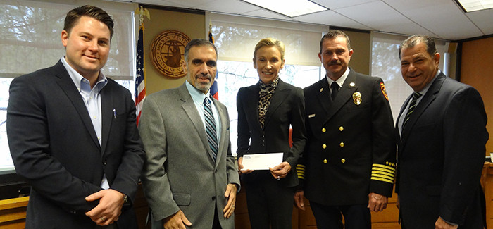 WESTLAKE FIRE DEPARTMENT RECEIVES GIFT FROM DELOITTE