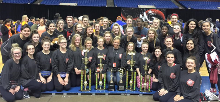 NHS Drill Team Named National Champions