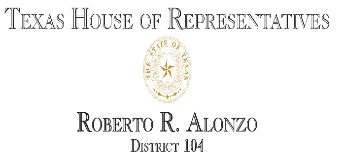 Alonzo Makes Motion to Adjourn Today's Floor Debate in Memory of Texas Music Icon and Legend Stevie Ray Vaughan