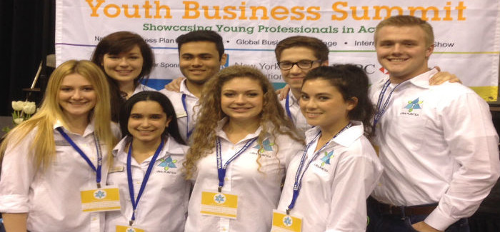 BNHS Business Academy Students Named National Champions as First Year Team