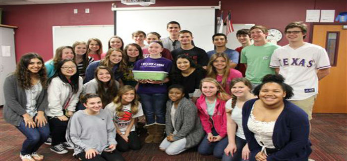 LEAD 2021: HMS Student Creates Hope Boxes for Kids Battling Cancer
