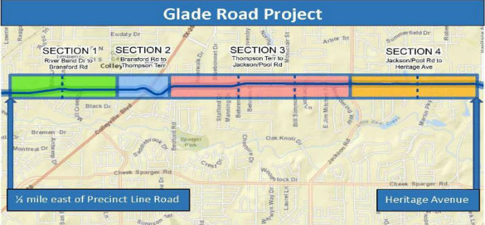 Glade Road on May Election Ballot