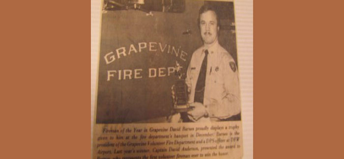 Deputy Fire Chief & Fire Marshal David Barnes Retires After 50+ Years in Public Safety