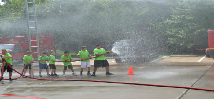 The Fire Departments' Fire Rescue Camp Registration Underway