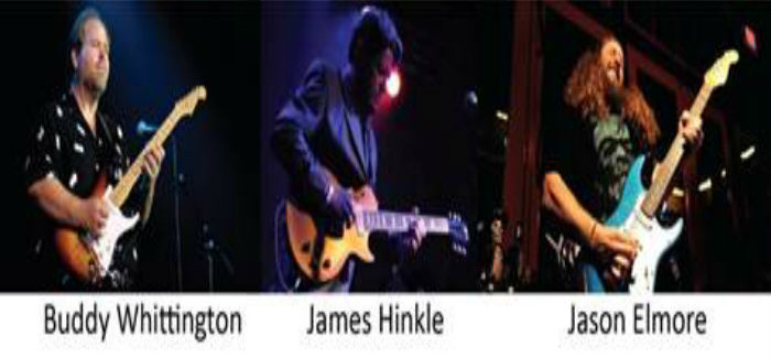 Three Texas Guitar Greats Onstage Together in North Richland Hills