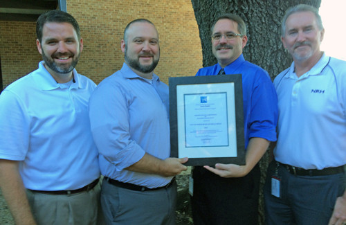 NRH Planning and Development Department Receives Certificate of Achievement