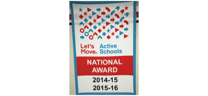West Birdville Elementary Named a 'Let's Move! Active School'