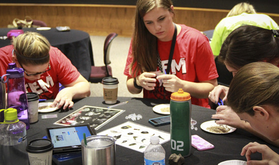 NISD Teachers Learn from Scientist at Crazy Science Day