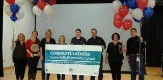 Devon Energy Surprises Seven Hills Elementary School with Grant Award