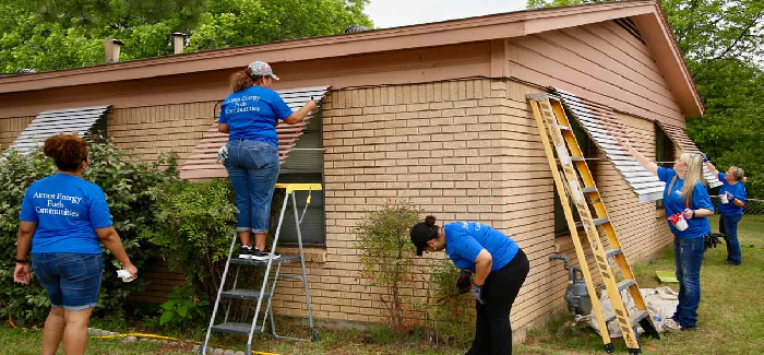 Stop Six homes get a helping hand
