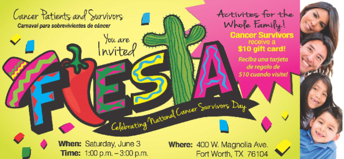 Fiesta! Celebrating National Cancer Survivors Day