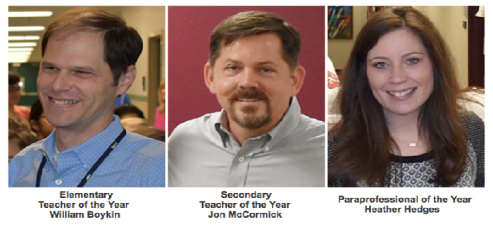 Meet your 2017 Employees of the Year GCISD