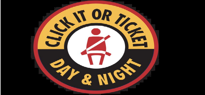 Click It or Ticket Campaign Started May 22nd in Saginaw