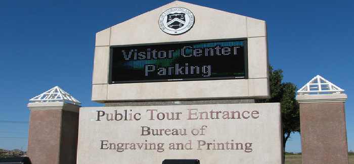 Senior Trip: Bureau of Engraving & Printing  Thursday, June 22