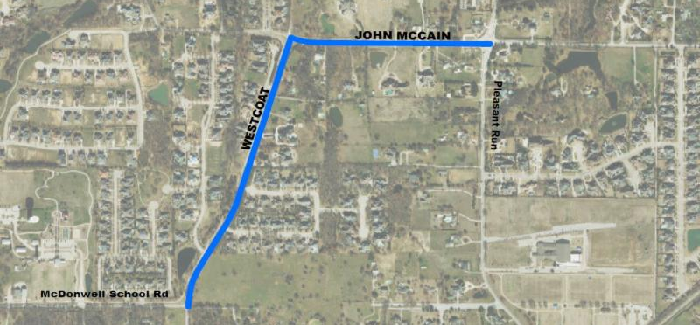 City begins construction project at Westcoat Drive and John McCain Road