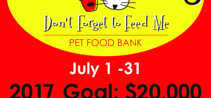 "2017 ""Hot & Hungry"" Campaign Kick-Off to Help Pet Owners in Need"