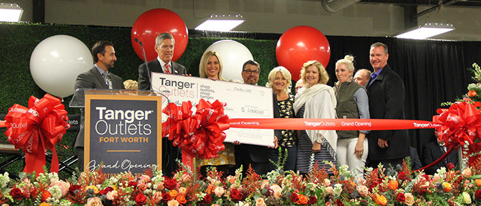 Northwest ISD Education Foundation Selected as Charity of Choice for Tanger Outlet Fort Worth Grand Opening
