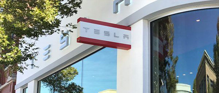 Tesla Gallery and Charging Stations Sparking Interest in Southlake Town Square