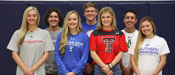 NISD: District celebrates 12 student-athletes signing letters of intent