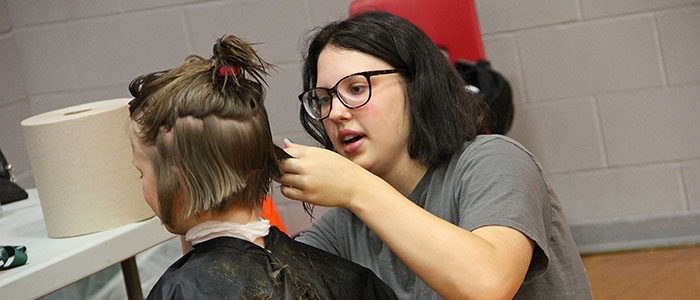 NISD: Shears of Steele offering free haircuts for pajamas donated for charity