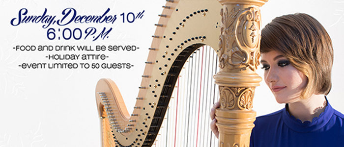 APEX ARTS LEAGUE PRESENTS Echos of Wonder Performed by Emily Levin—Dallas Symphony Harpist