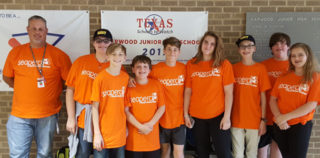 HEB ISD: Harwood Jr. High Team Earns Second Place in Underwater Drone Competition