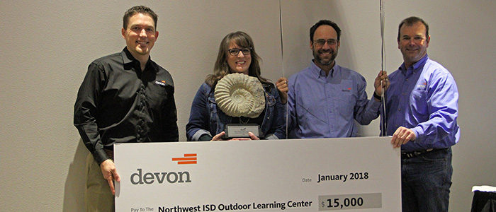Devon Energy awards NISD's OLC with $15,000 grant for youth science area