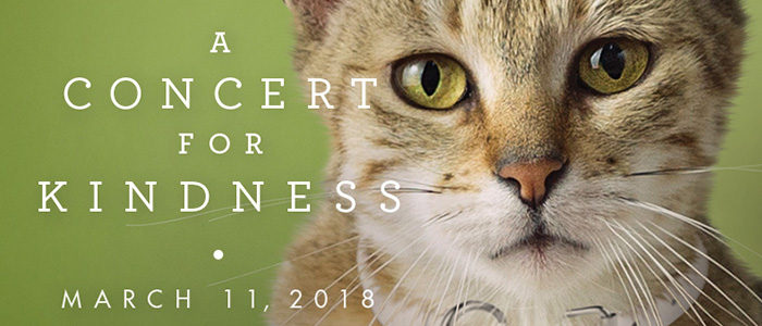 Artists for Animals Presents Concert for Kindness – a Multimedia Experience Proceeds to Benefit Operation Kindness – North Texas' Largest No-Kill Shelter