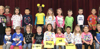 HEB ISD: Meadow Creek Core Knowledge Pre-K Celebrates 100th Day of School