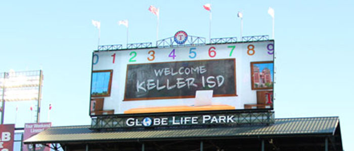 Join Keller ISD for Night with the Rangers