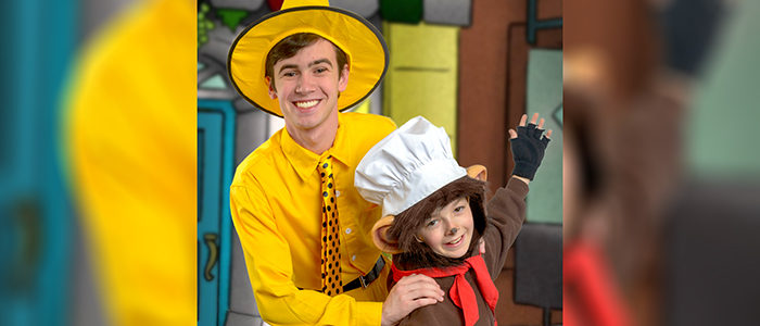 Curious George Opening at Artisan Center Theater