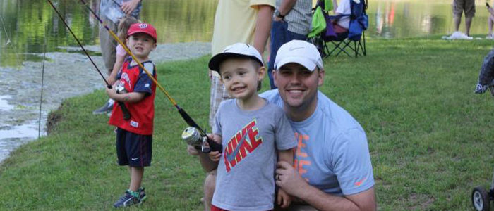 Colleyville: Enjoy FREE fishing with the family on April 21 at the Nature Center with Texas Junior Anglers